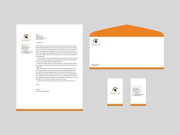 信封信紙設計MOP2000