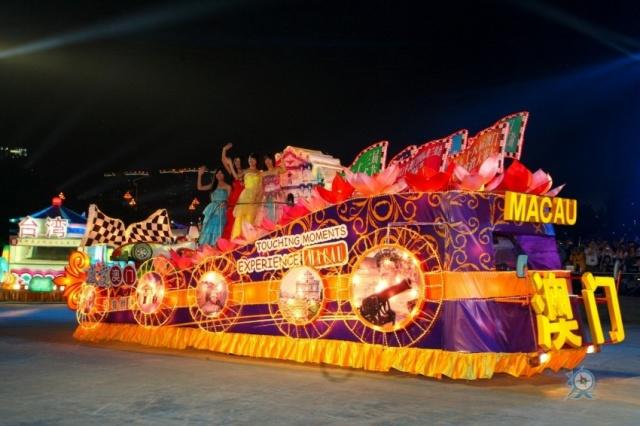 農曆新年花車巡遊匯演