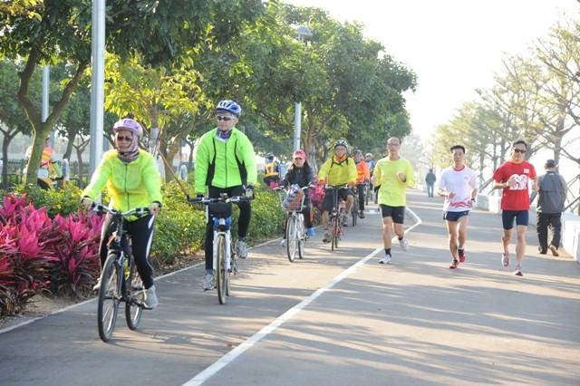 氹仔海濱休憩區 (單車徑)
