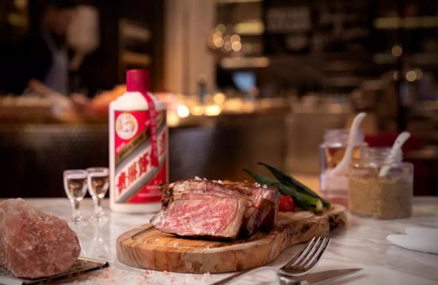 「The Apron蠔吧扒房」貴州茅台風乾熟成澳洲和牛扒