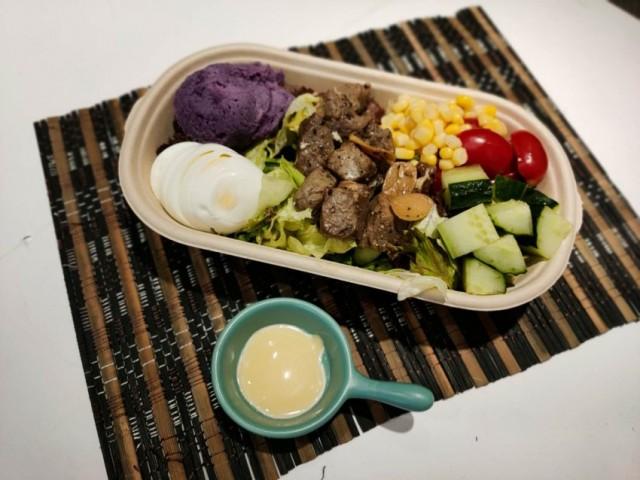 蒜片牛粒牛油果沙拉 / 爽滑雞胸牛油果沙拉 / 煙鴨胸牛油果沙拉 (天使輕食)